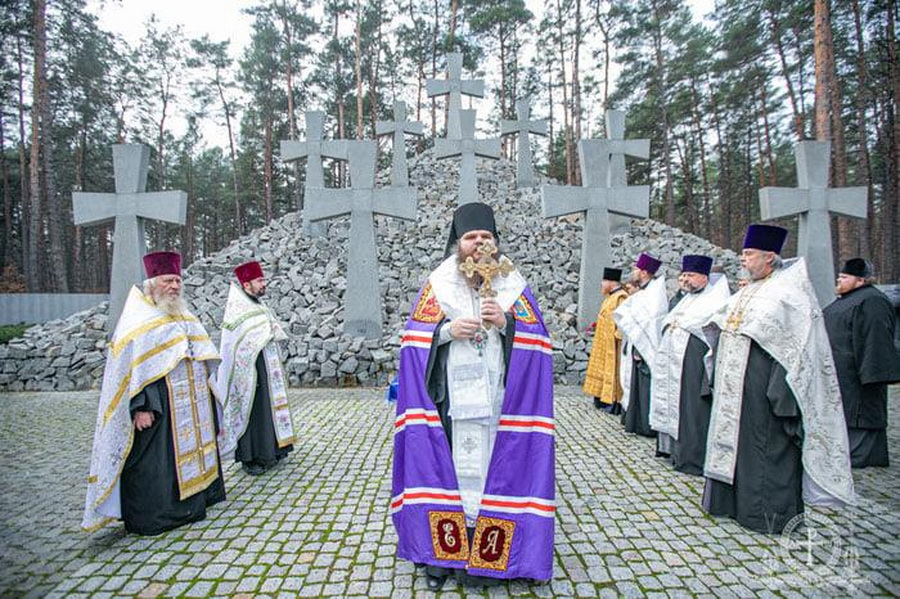 У Биківнянському лісі під Києвом вшанували пам'ять о. Михаїла Под'єльського та інших жертв комуністичних репресій