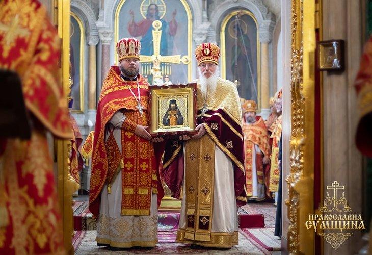 В Сумской епархии в лике местночтимых святых прославили преподобномученика Аристарха (Ситало)