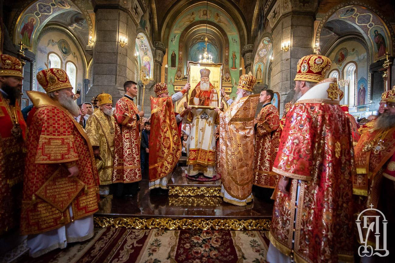 В Житомирській єпархії у лику місцевошанованих святих прославили архієпископа Євменія (Хорольського)